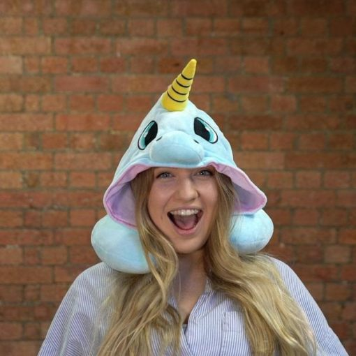Travel U-Shaped Unicorn Neck Pillow