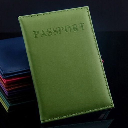 Travel Leather Passport Case- ID Card Cover |Travel With Jaiden