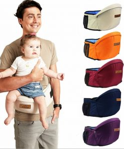 Baby Carrier Waist Seat- Infant Hip Seat | Travel With Jaiden