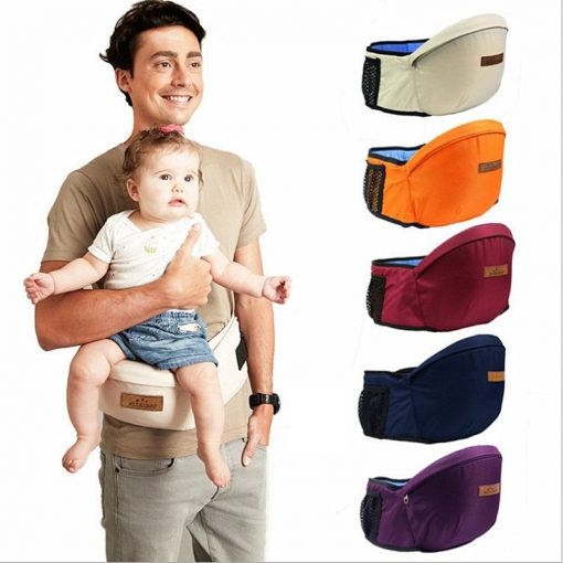 Baby Carrier Waist Seat- Infant Hip Seat   Travel With Jaiden