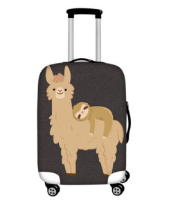 Funny Llama Travel Luggage Cover