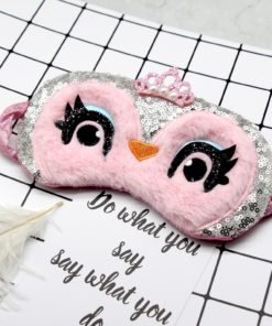 Owl Face Sleeping Eye Mask