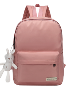 Minimalist Zipper Rabbit Backpack