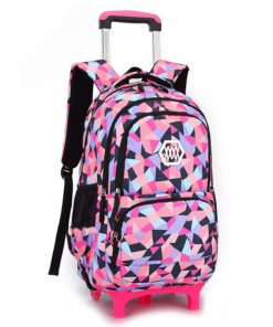 Children Travel Trolley Backpack