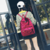 Velvet Rucksack Backpack
