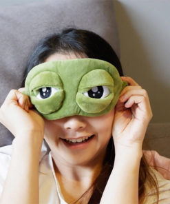 Frog Eyes Sleeping Mask